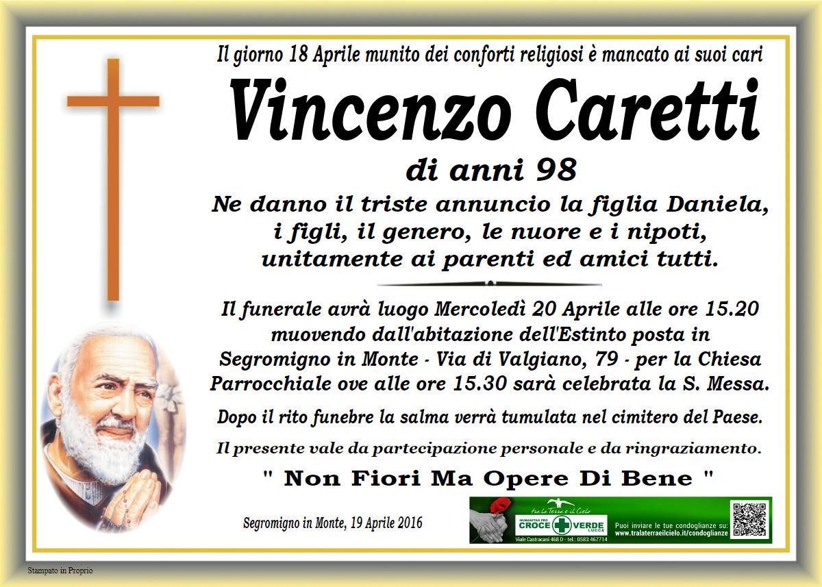 Caretti Vincenzo