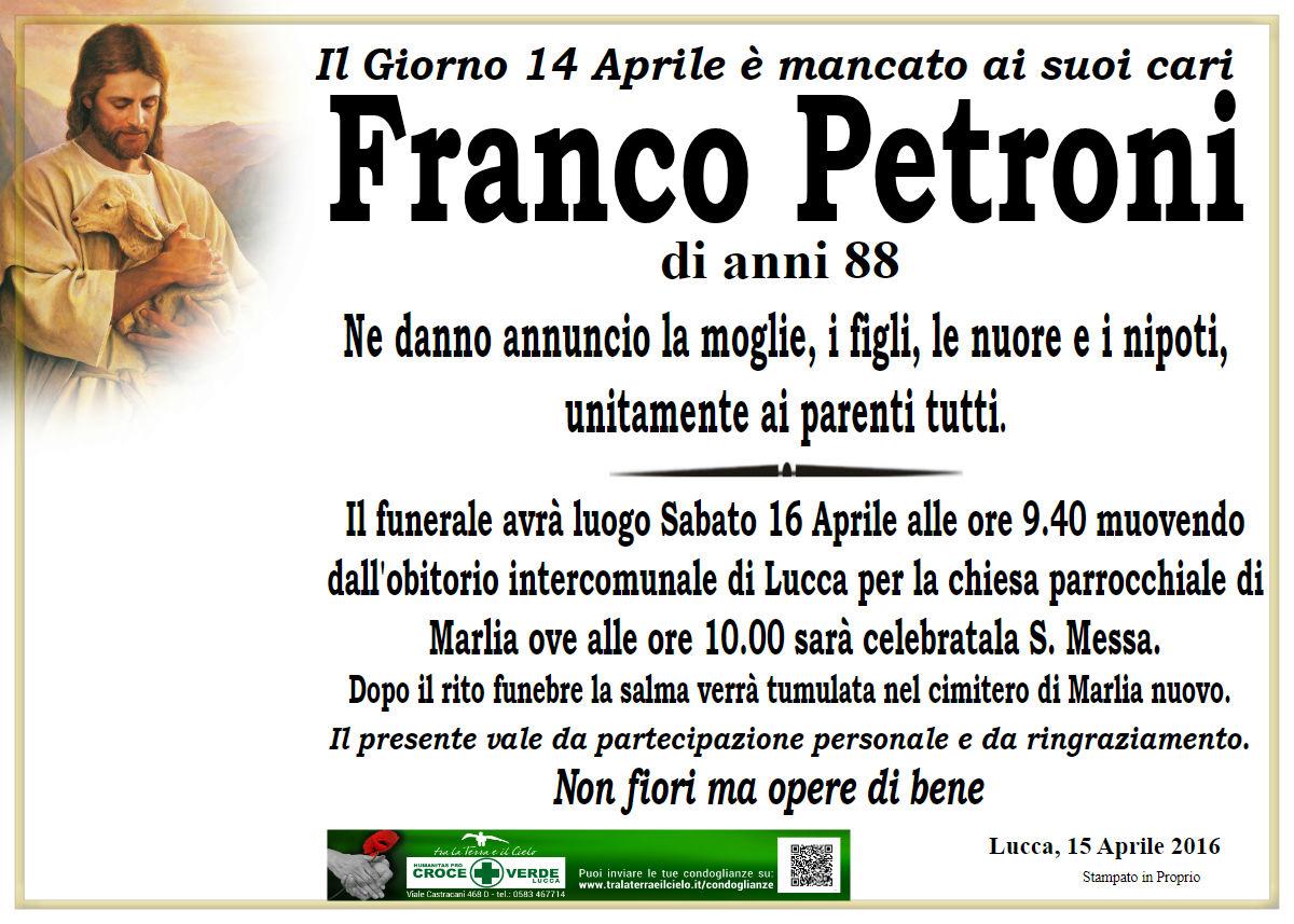 Franco Petroni