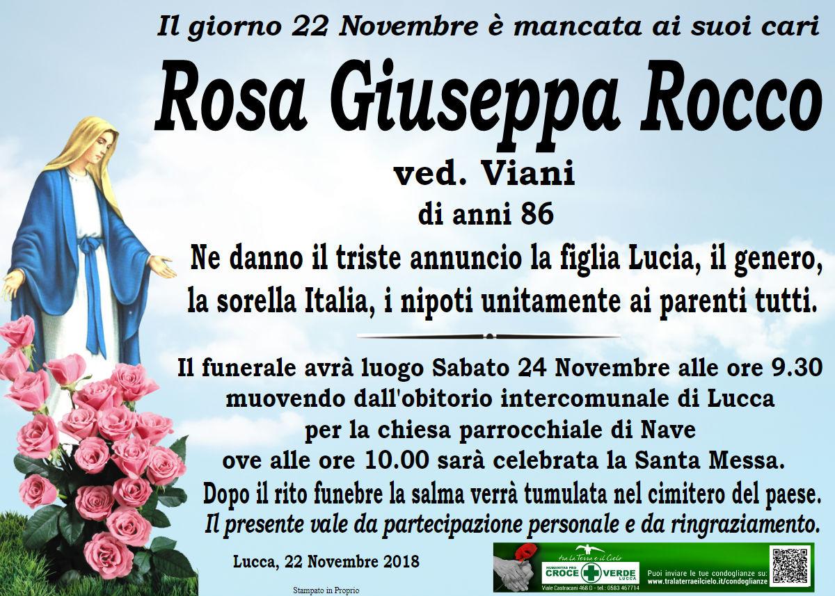 Rosa Giuseppa Rocca ved. viani