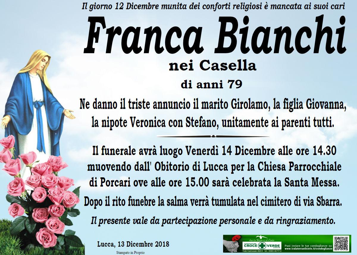 Franca Bianchi nei Casella