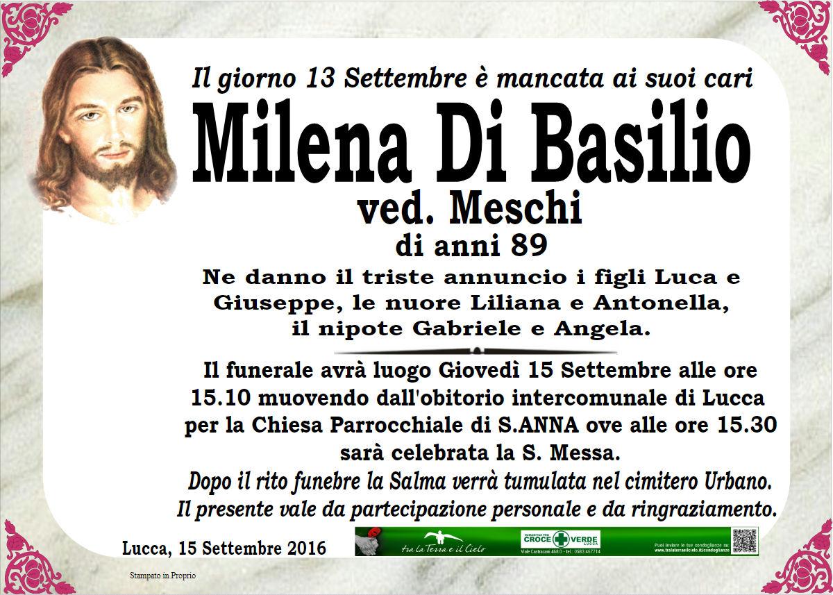 Milena Di Basilio ved. Meschi
