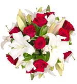 Bouquet Rose e gigli
